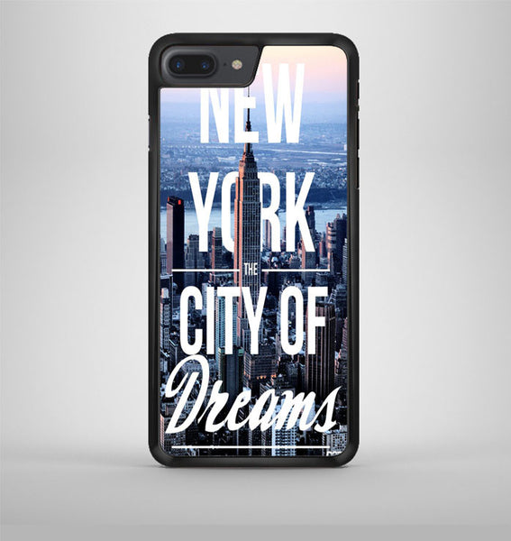 New York City Of Dreams iPhone 7 Plus Case Avallen