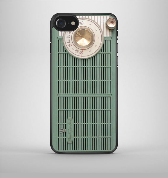 old green radio iPhone 7 Case Avallen