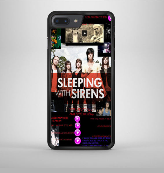 Sleeping With Sirens Cover iPhone 7 Plus Case Avallen