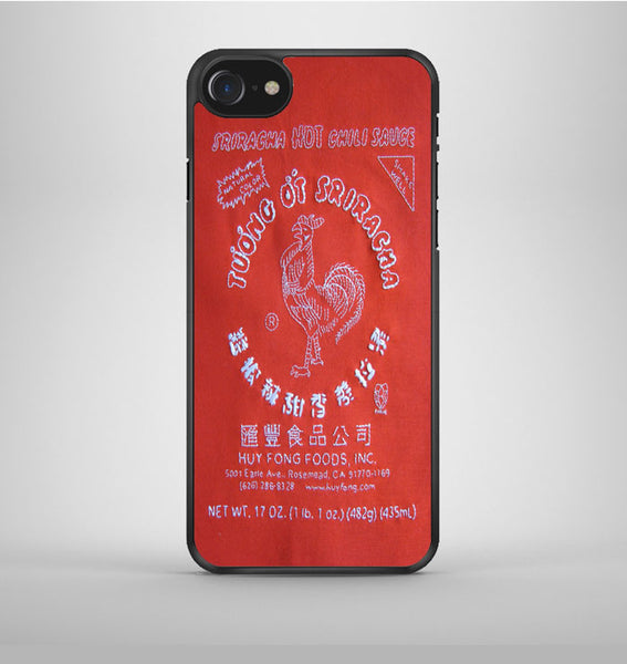 Sriracha Hot Sauce iPhone 7 Case Avallen