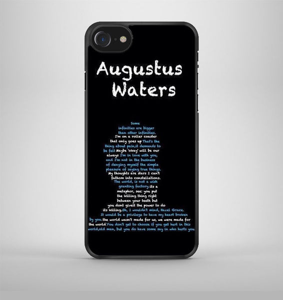 the fault in ours stars Agustus iPhone 7 Case Avallen