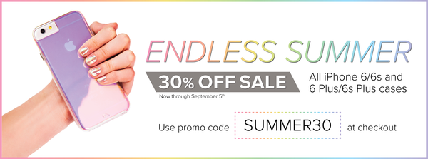 Endless Summer sale - 30% off