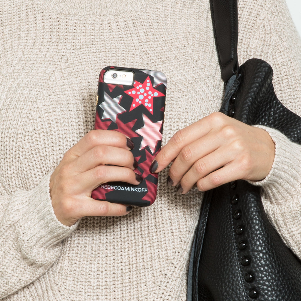 iPhone 6s Tough Print Stars By Rebecca Minkoff - lifestyle angle 2