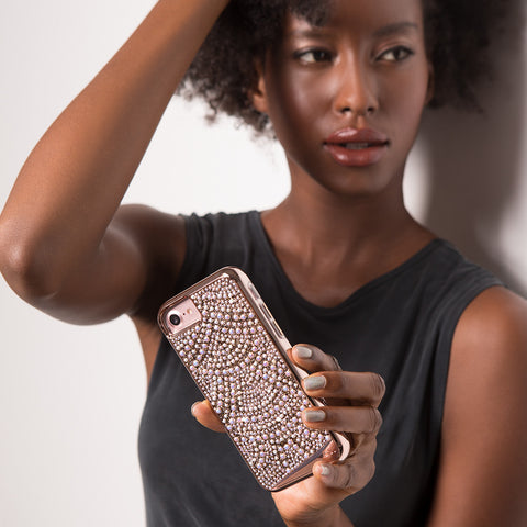 iPhone 6 / 6s / 7 Brilliance Tough - Lace Rose Gold