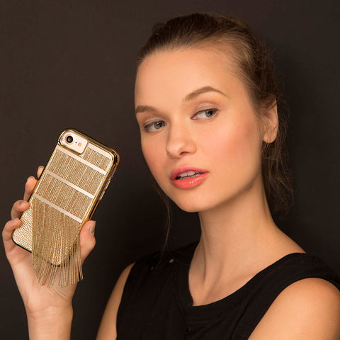 iPhone 6 / 6s / 7 Fringed Metal - Gold