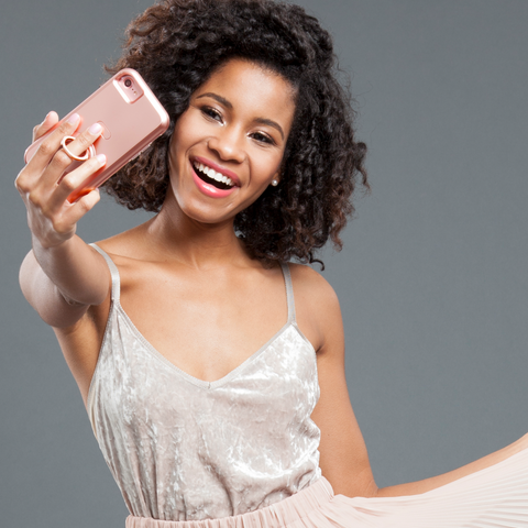 iPhone 6 / 6s / 7 Allure Selfie Case - Rose Gold