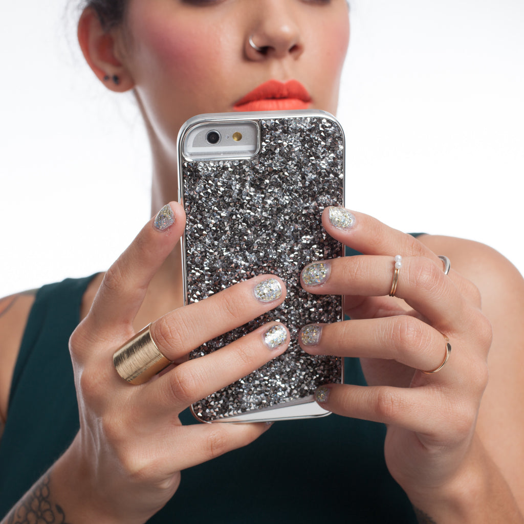 iPhone 6s Steel Brilliance Case - lifestyle angle 2