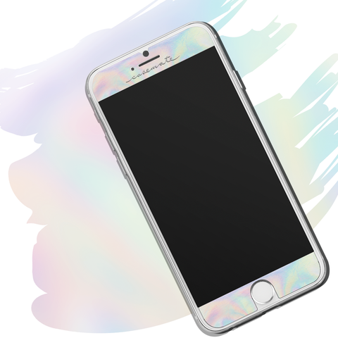 iPhone 6 / 6s / 7 Gilded Glass Screen Protector - Iridescent