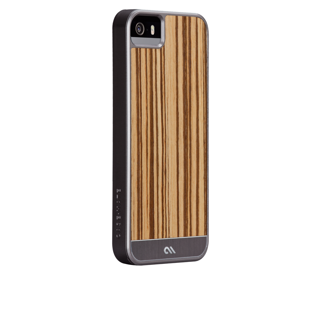 iPhone 5/5s Zebrawood Woods Case - image angle 1