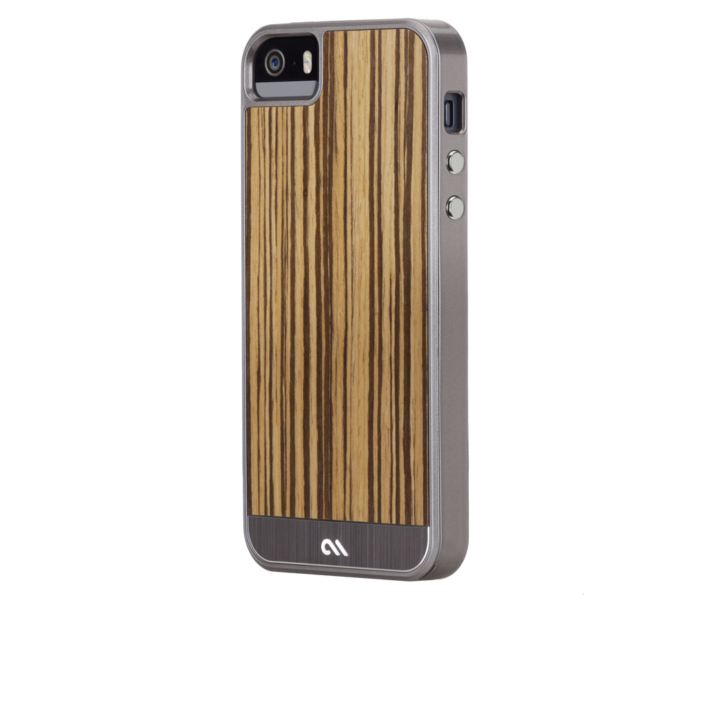 iPhone 5/5s Zebrawood Woods Case - image angle 3