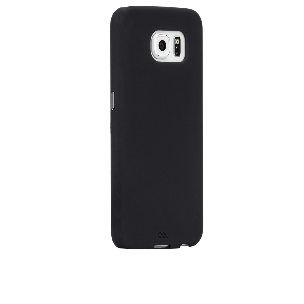 Samsung Galaxy S6 Black Barely There Case - image angle 1