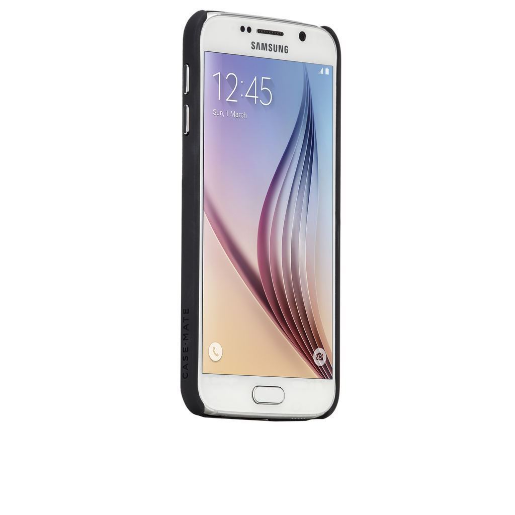 Samsung Galaxy S6 Black Barely There Case - image angle 2