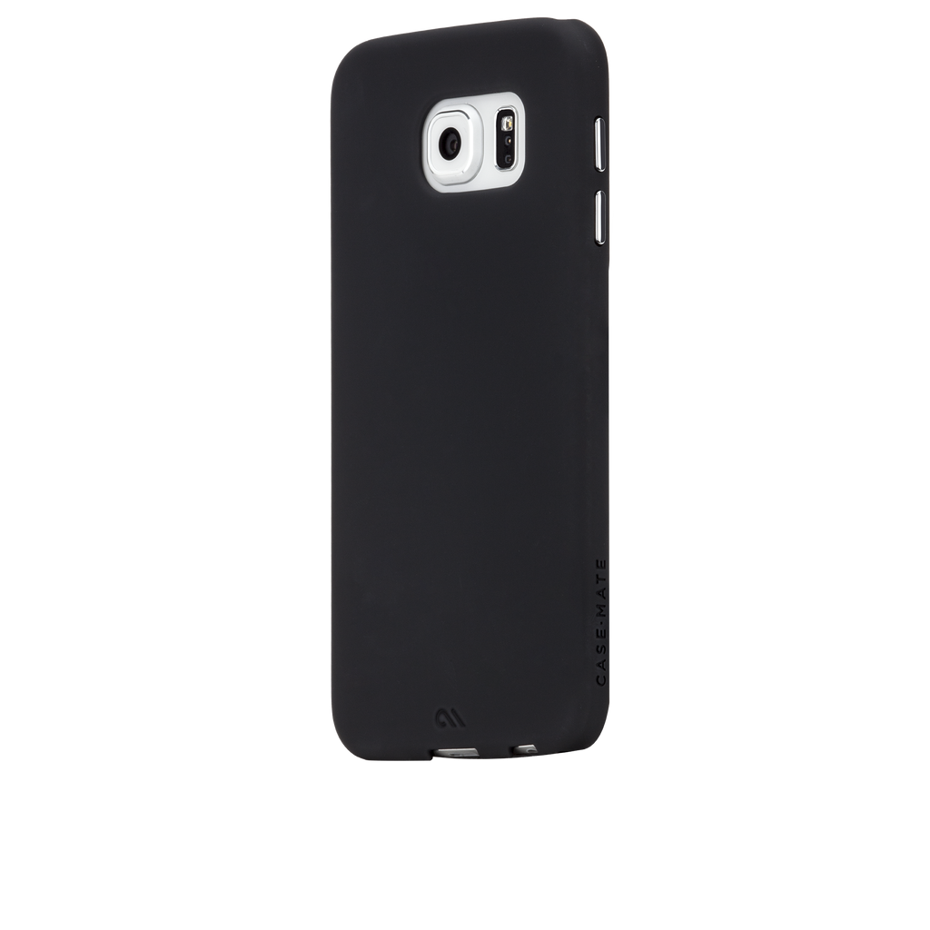Samsung Galaxy S6 Black Barely There Case - image angle 3