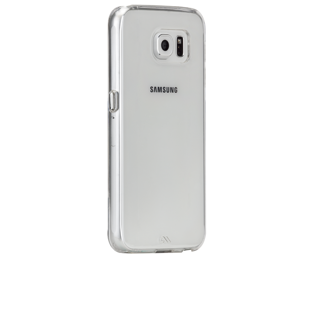 Samsung Galaxy S6 Clear Barely There Case - image angle 1
