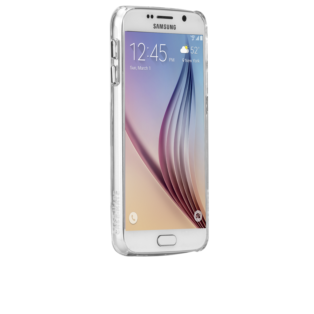 Samsung Galaxy S6 Clear Barely There Case - image angle 2