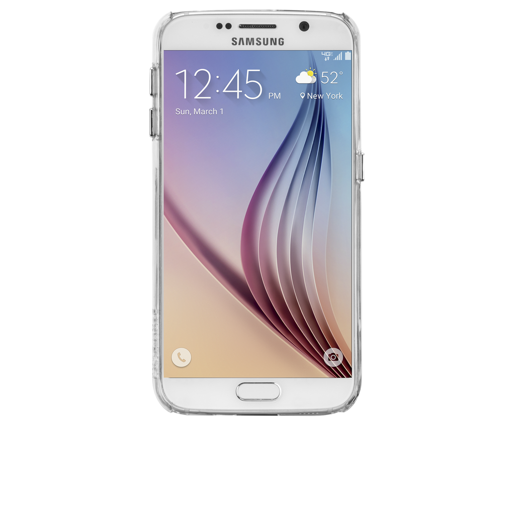 Samsung Galaxy S6 Clear Barely There Case - image angle 6