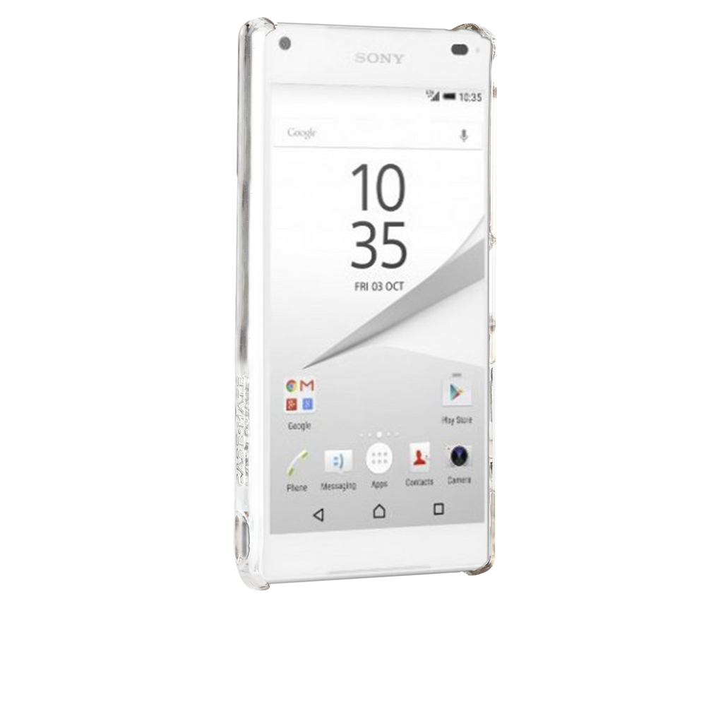 Sony Xperia Z5 Compact Clear Barely There Case - image angle 2