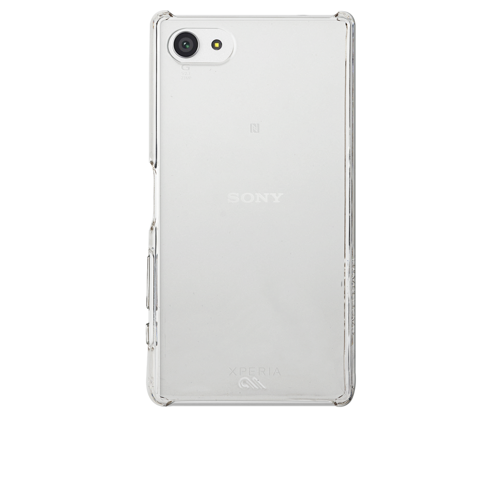 Sony Xperia Z5 Compact Clear Barely There Case - image angle 7