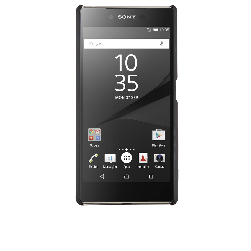 Sony Xperia Z5 Black Barely There Case - image angle 6