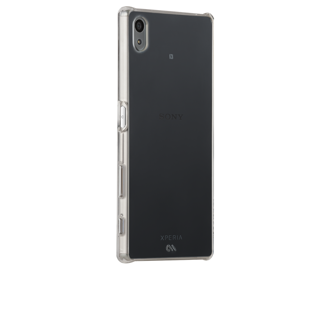 Sony Xperia Z5 Clear Barely There Case - image angle 1