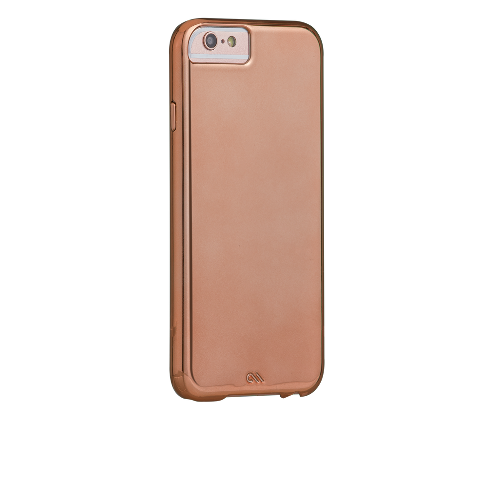 Barely There Metallic Rose Gold iPhone 6s Plus Case - image angle 1