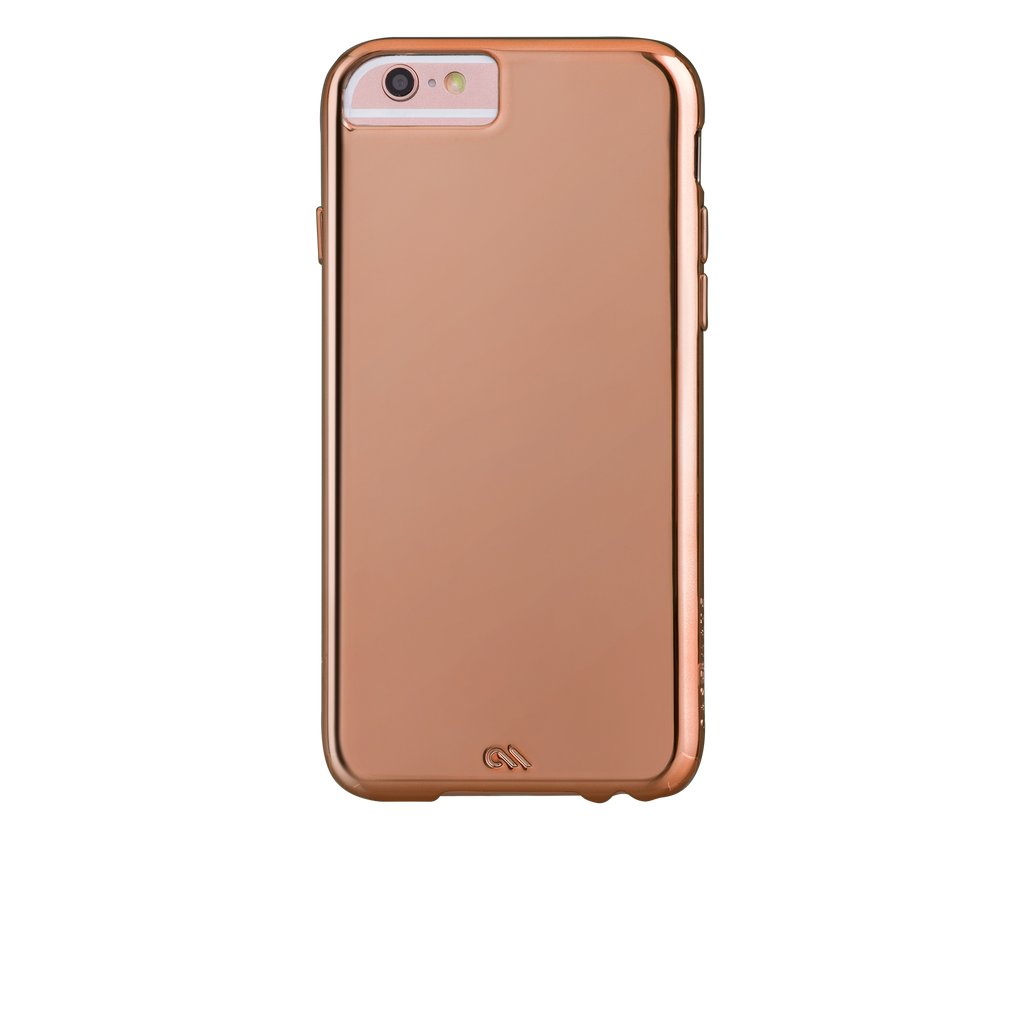 Barely There Metallic Rose Gold iPhone 6s Plus Case - image angle 7