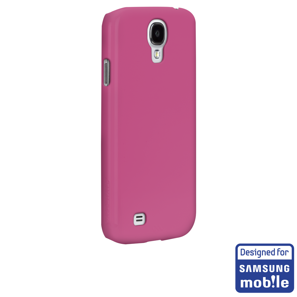 Samsung GALAXY S4 Pink Barely There Case - image angle _1a
