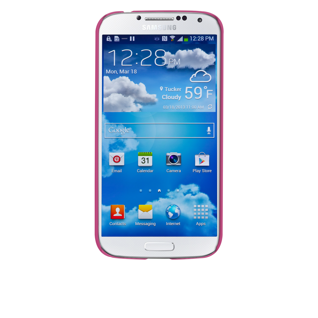 Samsung GALAXY S4 Pink Barely There Case - image angle _6