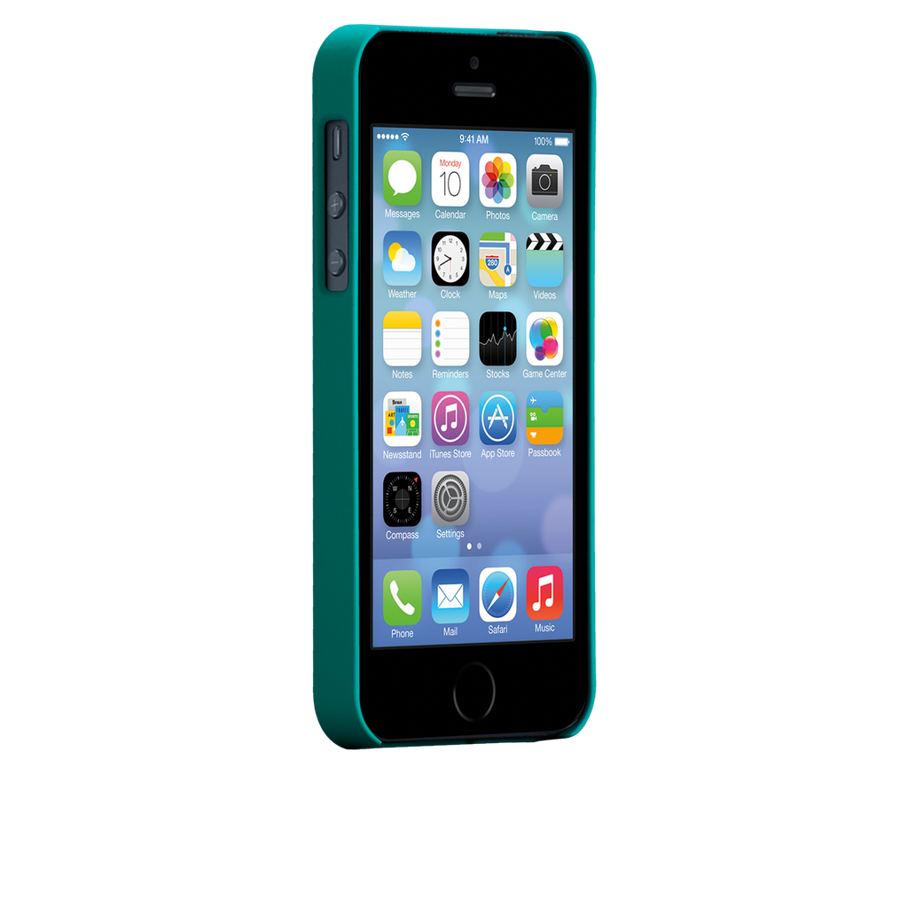 iPhone 5/5s Emerald Green Barely There Case - image angle 2