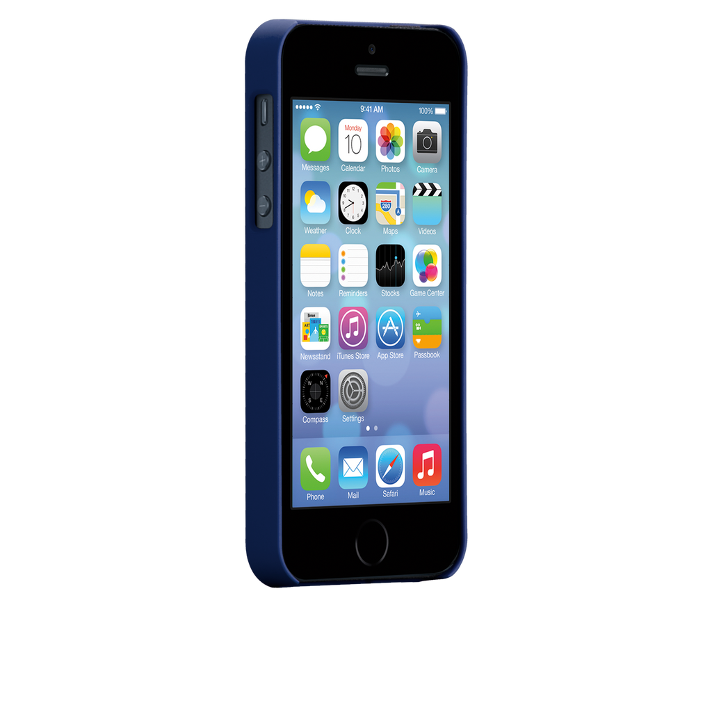 iPhone 5/5s Marine Blue Barely There Case - image angle 2