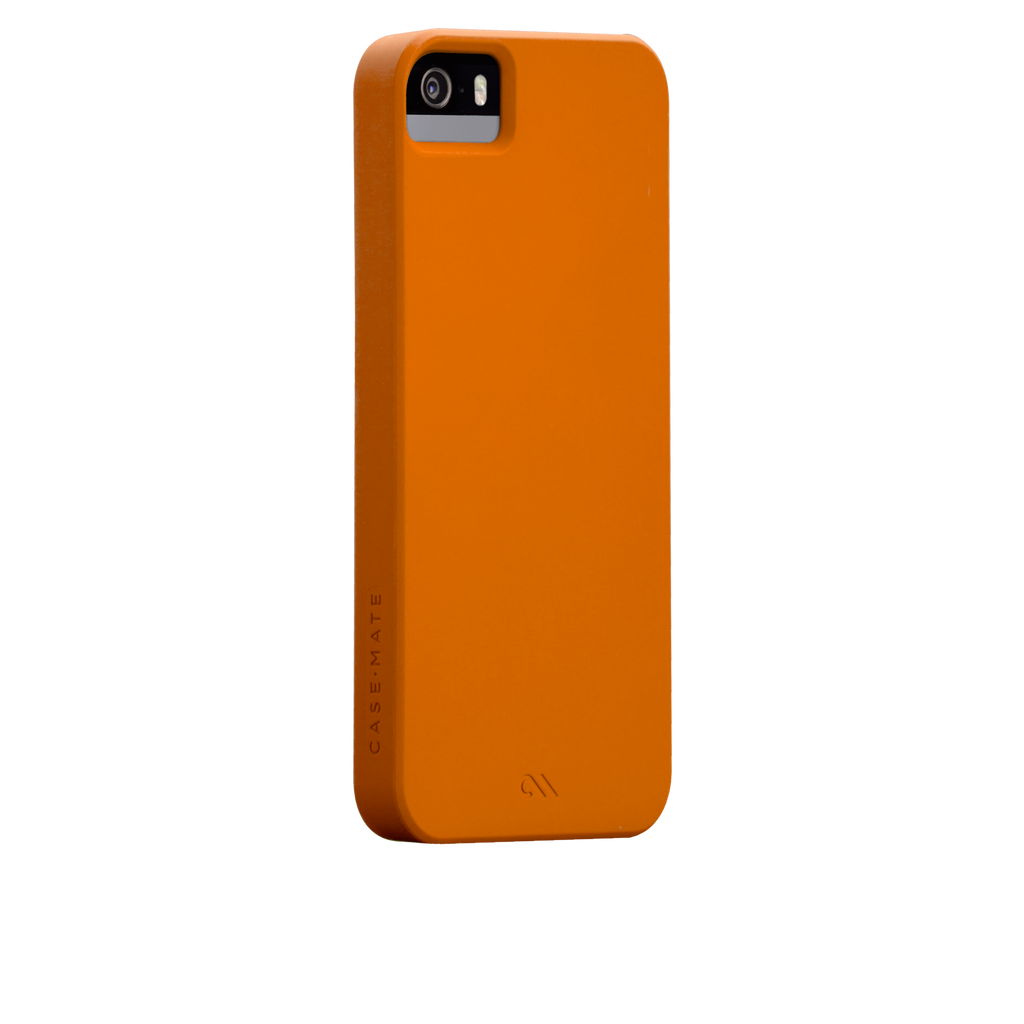 iPhone 5/5s Tangerine Tango Orange Barely There Case - image angle 1