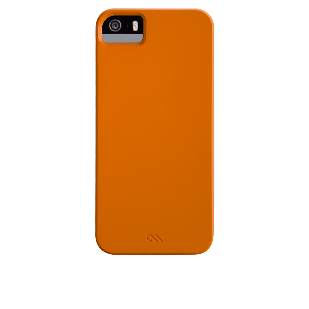 iPhone 5/5s Tangerine Tango Orange Barely There Case - image angle 7