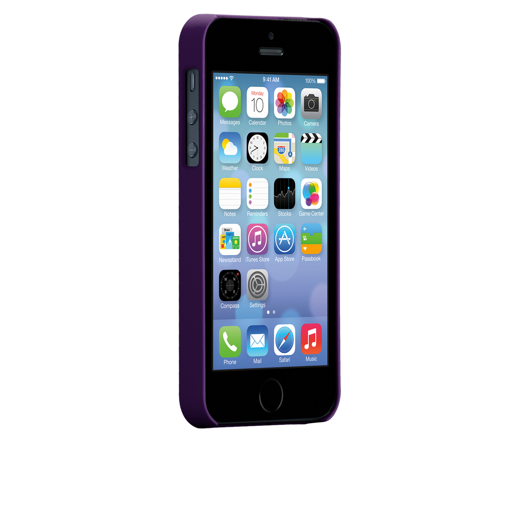 iPhone 5/5s Violet Purple Barely There Case - image angle 2
