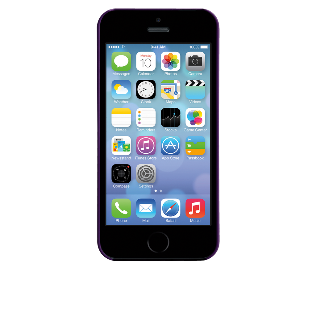 iPhone 5/5s Violet Purple Barely There Case - image angle 6