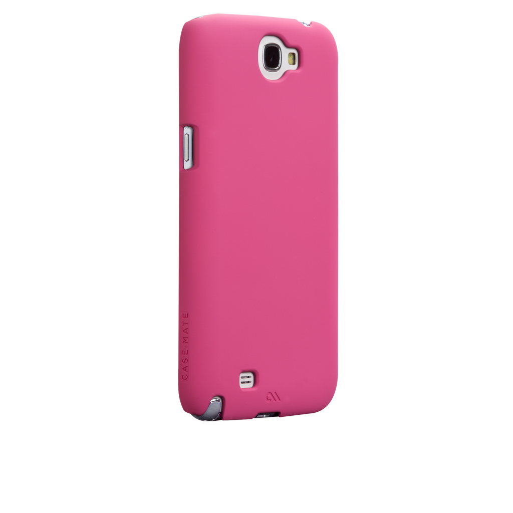 Samsung GALAXY Note 2 Lipstick Pink Barely There Case - image angle 1