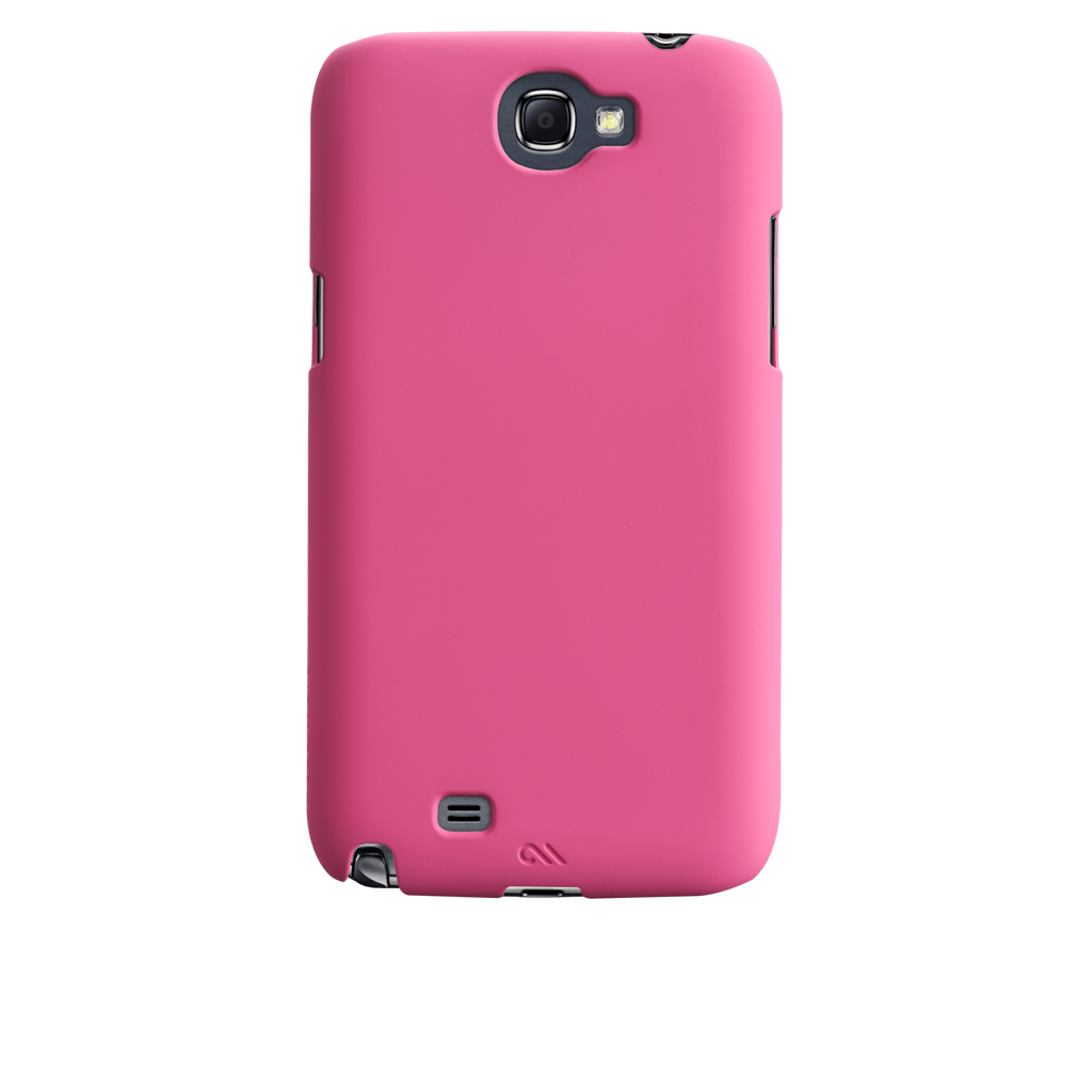 Samsung GALAXY Note 2 Lipstick Pink Barely There Case - image angle 7