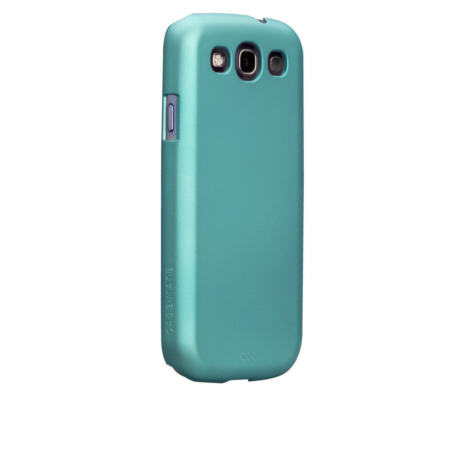 Samsung GALAXY S3 Turquoise Blue Barely There Case - image angle 1