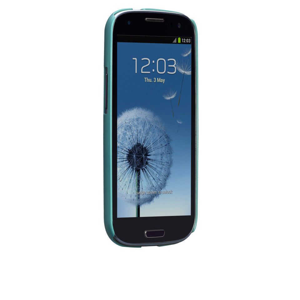 Samsung GALAXY S3 Turquoise Blue Barely There Case - image angle 2