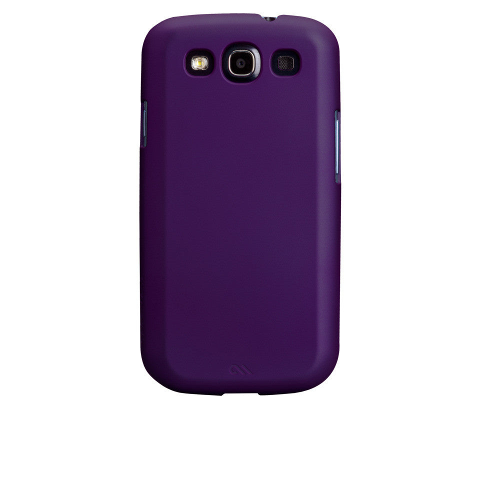 Samsung GALAXY S3 Violet Purple Barely There Case - image angle 7