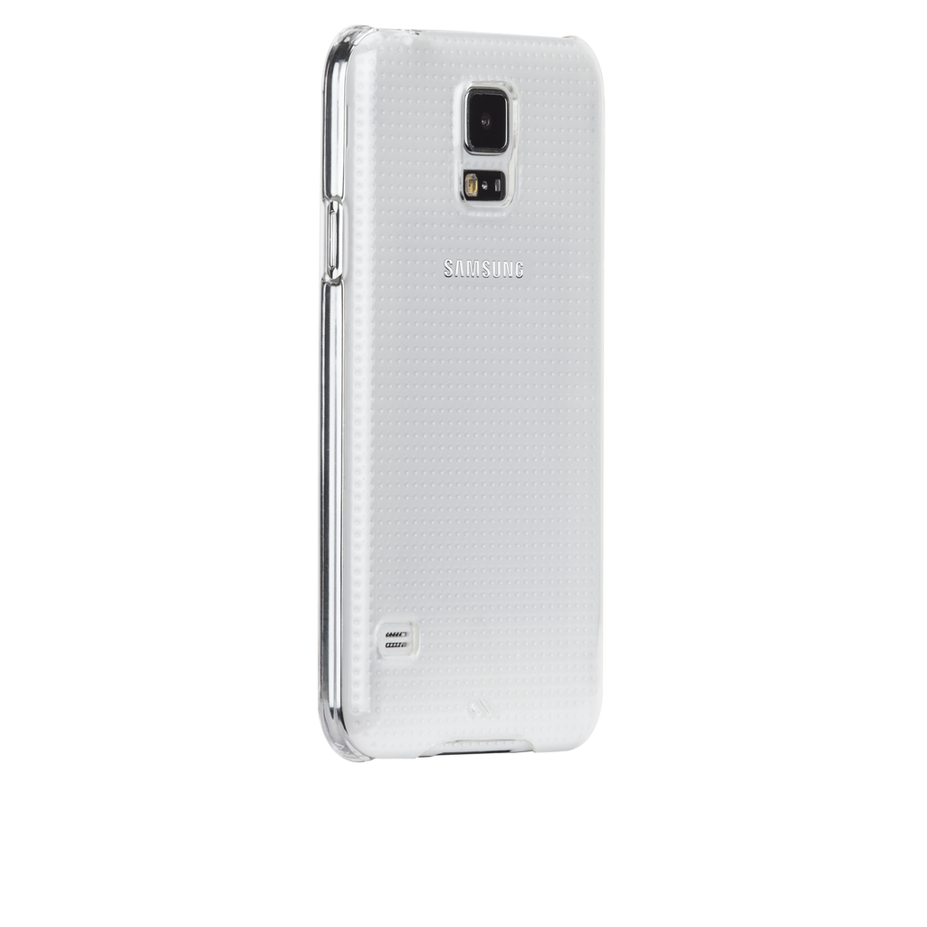 Samsung GALAXY S5 Clear Barely There Case - image angle 1