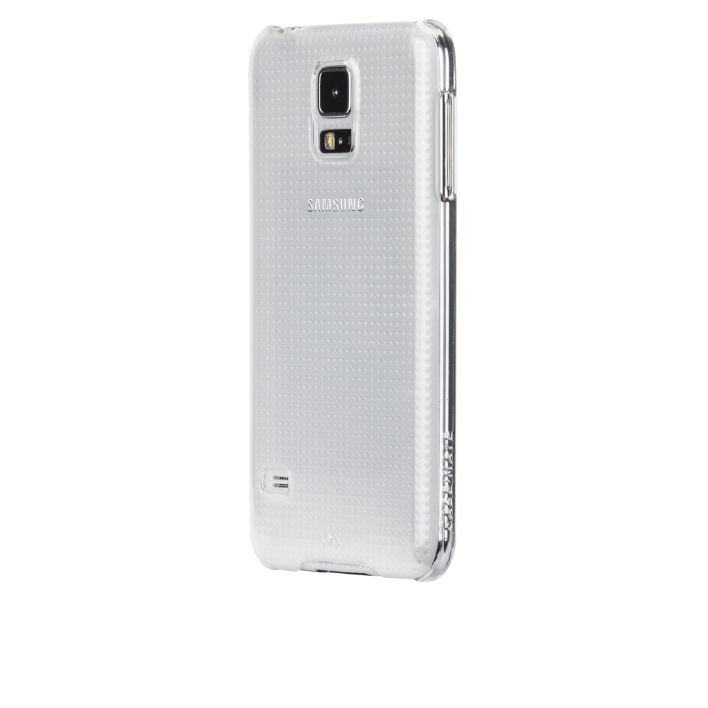 Samsung GALAXY S5 Clear Barely There Case - image angle 3
