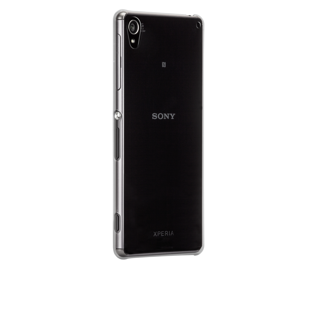 Sony Xperia Z3 Clear Barely There Case - image angle 1