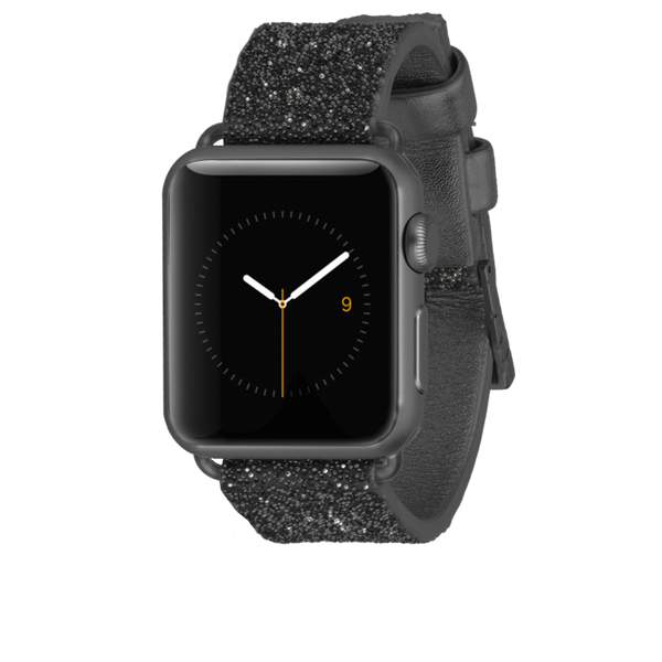 Apple Watch 38mm Black Brilliance Band - image angle 2