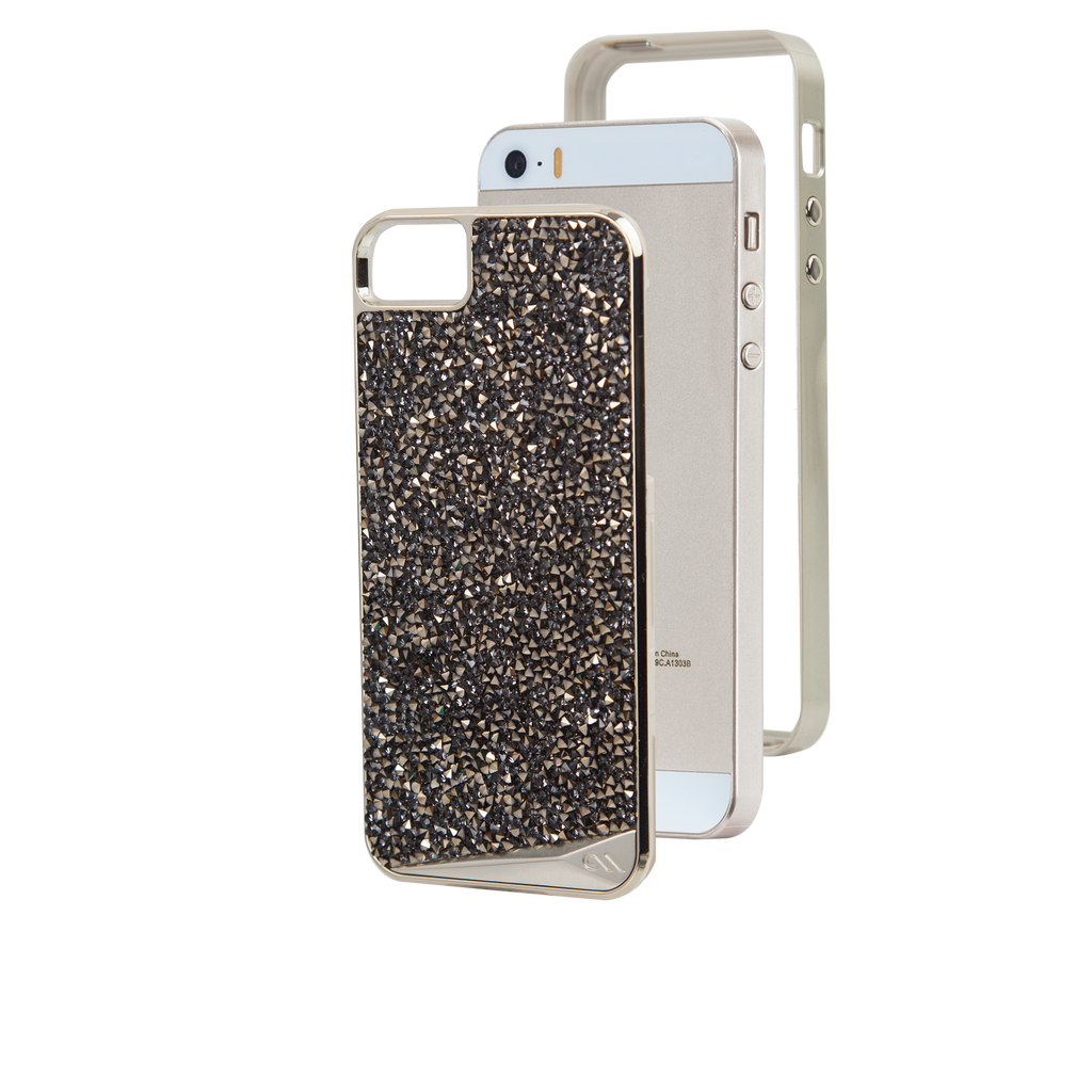 iPhone SE Champagne Brilliance Case - image angle 4
