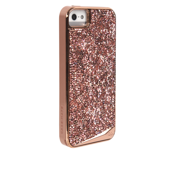 iPhone SE Rose Gold Brilliance Case - image angle 1