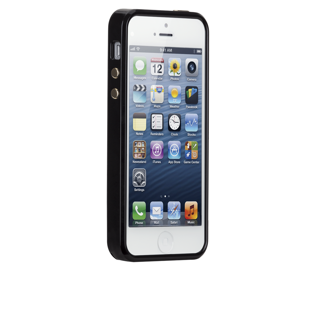 iPhone 5/5s Black Brilliance Case - image angle 2