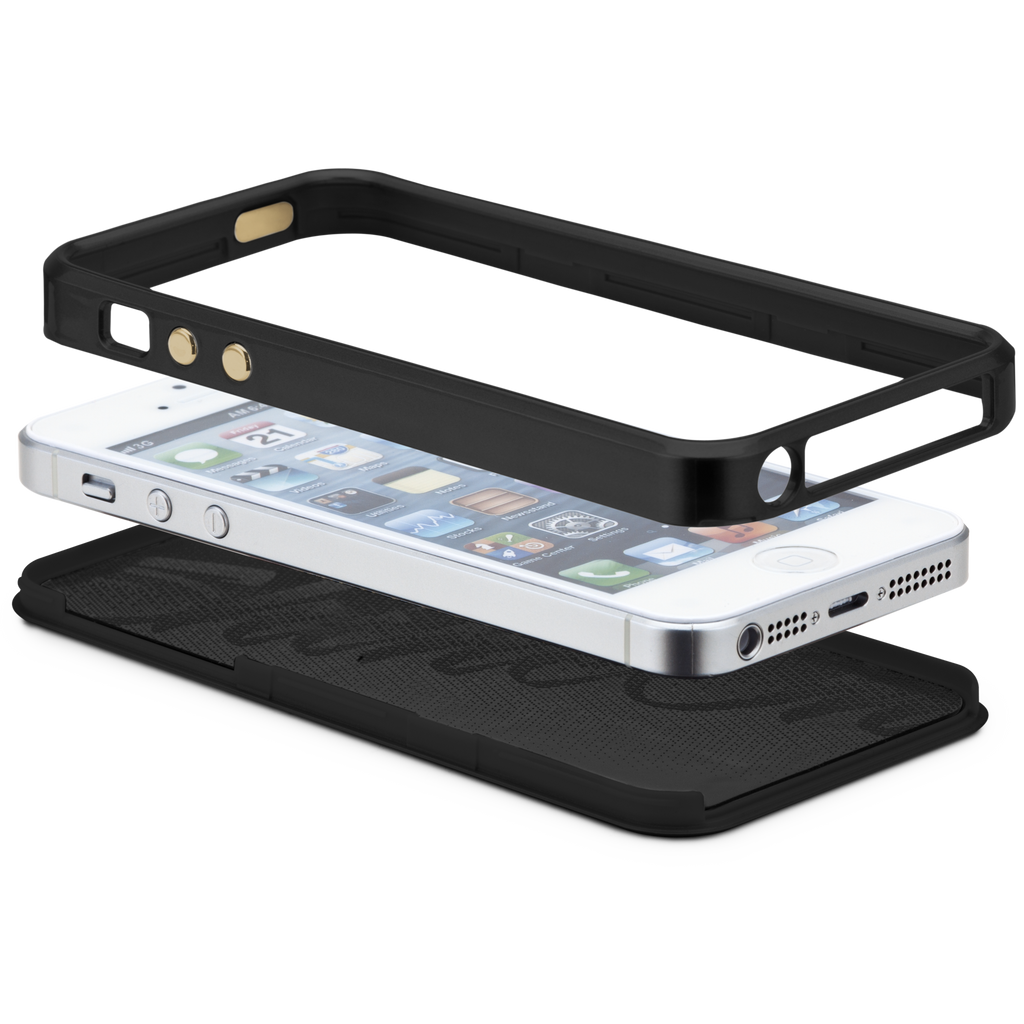 iPhone 5/5s Black Brilliance Case - image angle 9