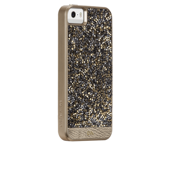 iPhone SE Gold Brilliance Case - image angle 1