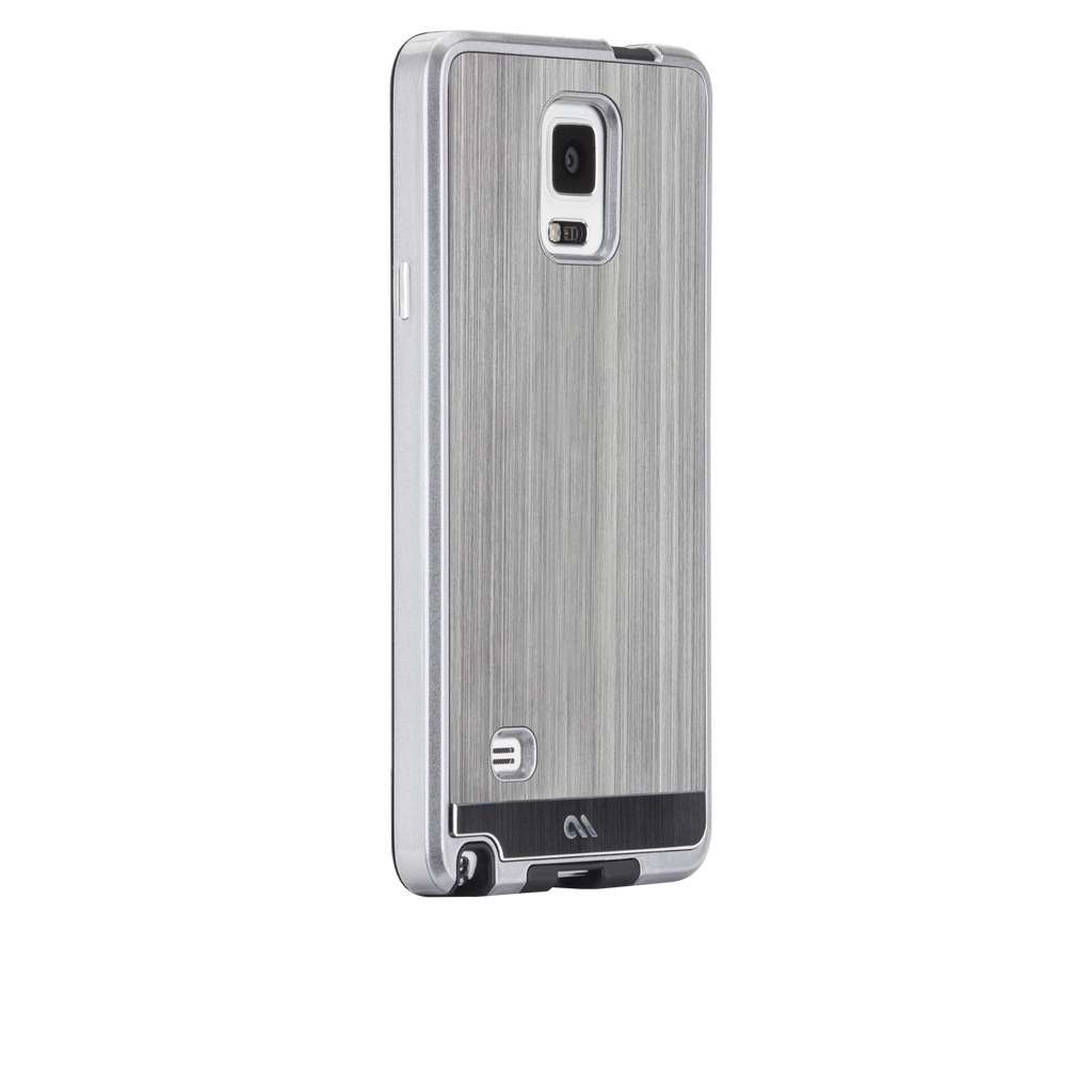 Samsung GALAXY Note 4 Gunmetal Brushed Aluminum Case - image angle 1