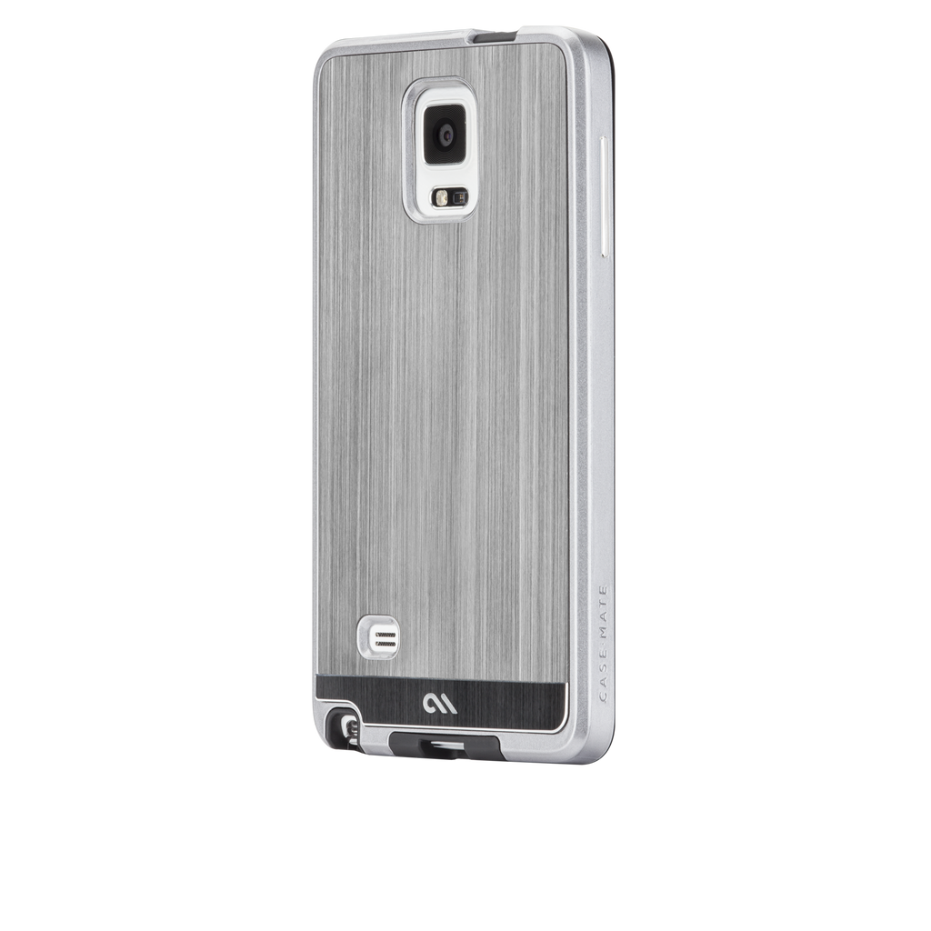 Samsung GALAXY Note 4 Gunmetal Brushed Aluminum Case - image angle 3